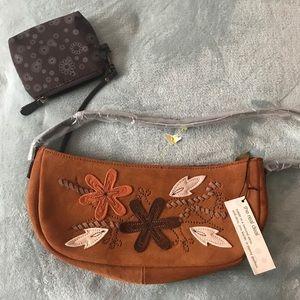 Handbags - Real suede purse